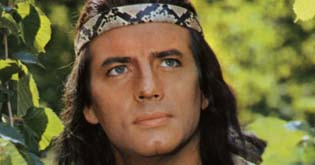 Pierre Brice as Winnetou