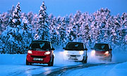 smart car winter