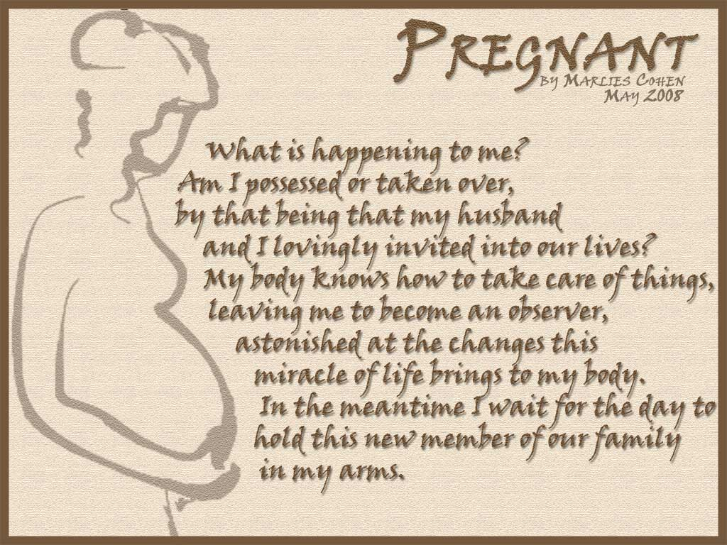 I Love My Twin Sister Quotes My Pregnant Poem  Marlies' Creative Universe